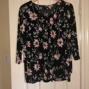 Floral Tiered Blouse